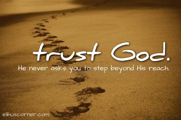trust God - steps