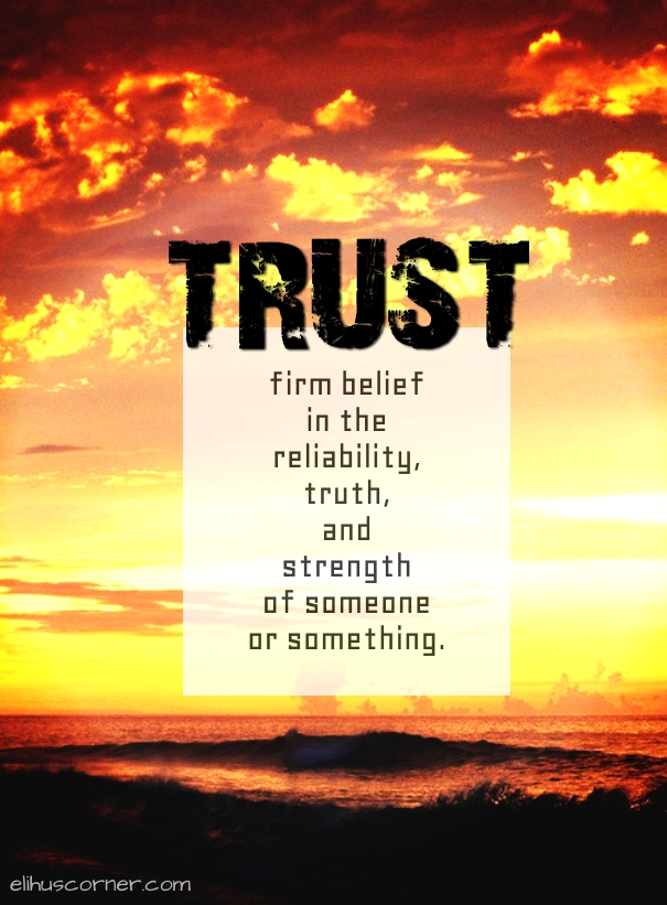 trust at the sea