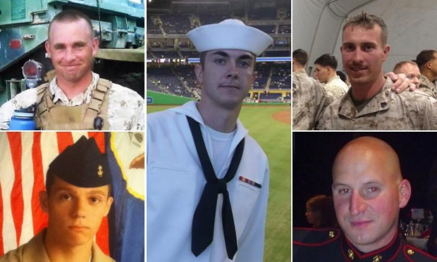 Image from the guardian.com http://www.theguardian.com/us-news/2015/jul/18/chattanooga-shooting-navy-fifth-victim-died
