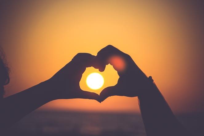 hands hearts