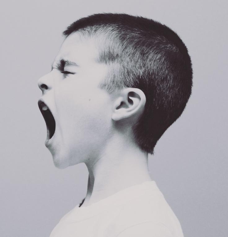 shouting